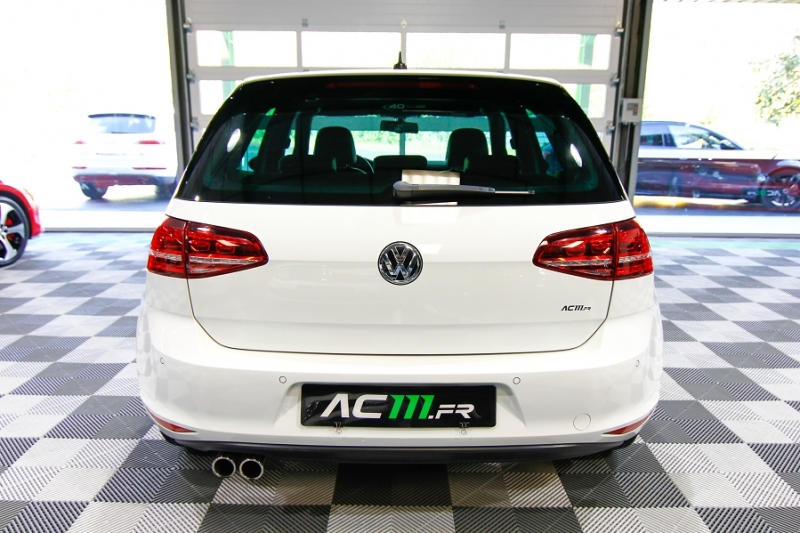Photo 5 de l'offre de VOLKSWAGEN GOLF VII 2.0 TDI 184CH BLUEMOTION TECHNOLOGY FAP GTD DSG6 5P à 18990€ chez AC111 Automobiles