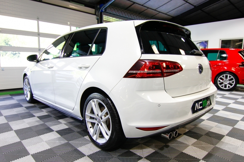 Photo 15 de l'offre de VOLKSWAGEN GOLF VII 2.0 TDI 184CH BLUEMOTION TECHNOLOGY FAP GTD DSG6 5P à 18990€ chez AC111 Automobiles