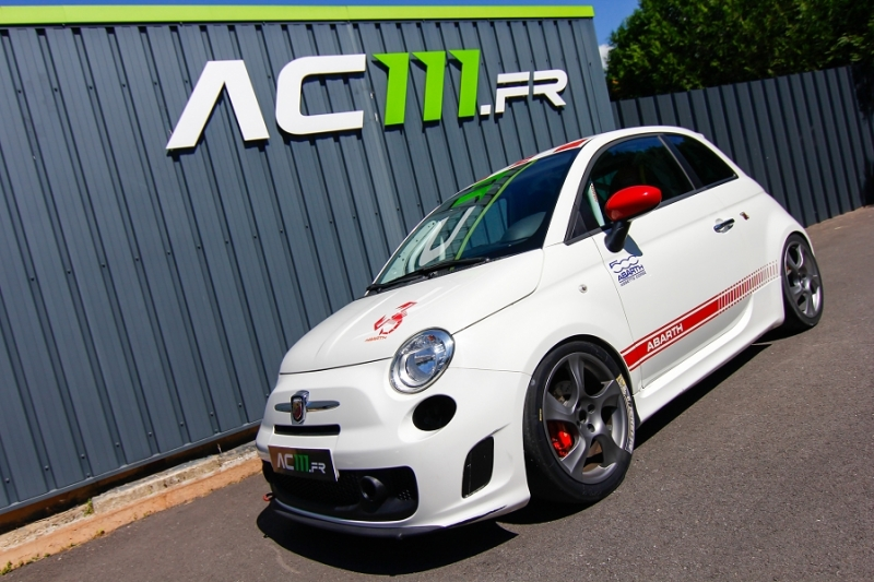 Photo 1 de l'offre de ABARTH 500 1.4 TURBO PREPA PISTE 244CH à 15990€ chez AC111 Automobiles