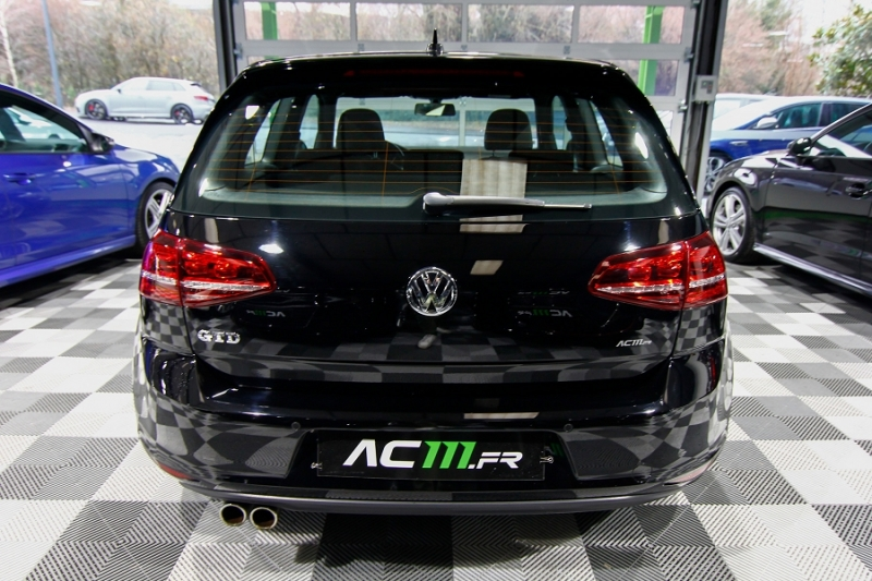 Photo 2 de l'offre de VOLKSWAGEN GOLF VII 2.0 TDI 184CH BLUEMOTION TECHNOLOGY FAP GTD 3P à 18990€ chez AC111 Automobiles