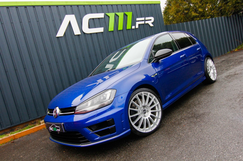 Volkswagen GOLF 2.0 TSI 300CH BLUEMOTION TECHNOLOGY R 4MOTION DSG6 5P Essence BLEU F Occasion à vendre